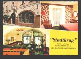 Salzburg - Hotel Stadtkrug - Mehrbildkarte - Salzburg Stadt