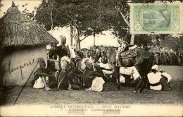 CÔTE D'IVOIRE - Carte Postale - Korhoko - Cavaliers Indigènes - L 30040 - Côte-d'Ivoire