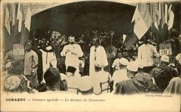 GUINÉE - Carte Postale - Conakry - Concours Agricole - Discours Du Gouverneur - L 30041 - Guinée Française