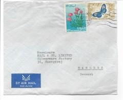 Lebanon Airmail.  Cover Sent To Denmark. H-652 - Lebanon