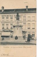 CPA - Belgique - Brussels - Bruxelles - St-Josse-ten-Noode - Place Houwaert - St-Joost-ten-Node - St-Josse-ten-Noode