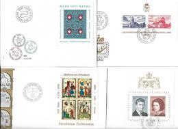 1599r: Blocklot Schweiz- Liechtenstein, Siehe Scan - Sammlungen