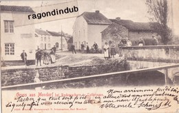 CPA - LUXEMBOURG - MONDORF-les-BAINS - GRUSS AUS MONDORF BEI RODEMACHERN I. LOTHRINGEN Voy 1900 - Mondorf-les-Bains