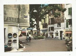 Cp, 06 , VENCE , La Place Du PEYRA , Vierge ,  Ed. S.E.P.T. - Vence