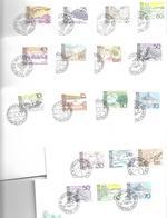 1599o: 14 Ersttage Liechtenstein Aus 1972- 1973 - Briefe U. Dokumente
