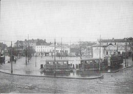 TRANSPORT TRAMWAY DE SAINT-ETIENNE 42 LOIRE 1/05 LIGNE BELLEVUE TERRASSE VERS 1910 MOTRICE H REMORQUES F - Tramways