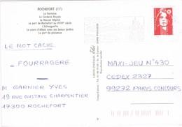 32814. Postal ROCHEFORT (Charente Maritime) 1995. Station Thermal, Balneario. Flamme - Francia