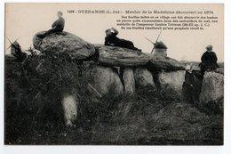 LOIRE ATLANTIQUE * GUERANDE * MENHIR DE LA MADELEINE Découvert En 1874 - Dolmen & Menhirs