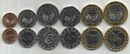 Mauritania 2017/18. Set Of 6 Coins High Grade - Mauritanië