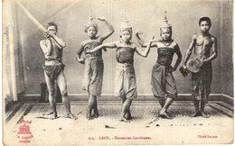 LAOS .... DANSEUSES LAOTIENNES - Laos
