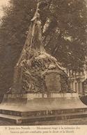 CPA - Belgique - Brussels - Bruxelles - St-Josse-ten-Noode - Monument Des Combattants - St-Joost-ten-Node - St-Josse-ten-Noode
