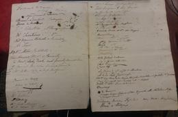 Libro Delle Firme Autografi Signatures Autographes 1840 > 1845 - Autographes