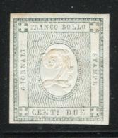 Sardegna 1861 Sass.20 */MH VF/F - Sardinia