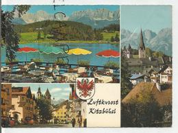 Luftkurort Kitzbühel. Carte Mosaïque, Blason. - Kitzbühel