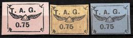 316 - FRANCE - GUYANE - 1920 - AIR MAIL - FORGERIES - FAUX - FALSES - FALSCHEN - Francobolli