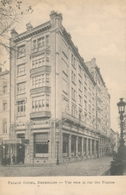 CPA - Belgique - Palace Hôtel, Bruxelles - Vue Vers La Rue Des Plantes - St-Joost-ten-Node - St-Josse-ten-Noode
