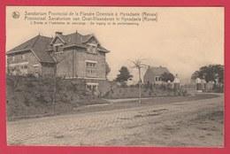 Ronse - Provincial Sanatorium Te Hynsdaele - De Ingang En De Portierwoning ( Verso Zien ) - Renaix - Ronse