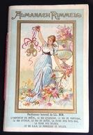 Parfum Rimmel Ravissant Almanach Calendrier 1890 Places Celebres Paris Concorde New York Statue Liberté Turquie Naples - Kalenders