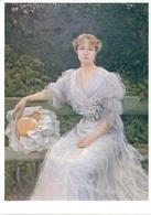 Marguerite Durand Peinture à L'huile De Jules Cayron 1897 - Peintures & Tableaux