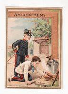 Chromo  AMIDON REMY    Soldats    En Campagne - Chromos