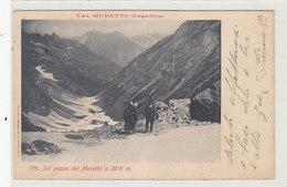 Sul Passo Del Muretto - Animata - 1904      (190521) - Sondrio
