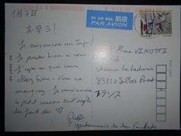 Japon , Carte De Tokyo 2015 Pour Sollies Pont - 1989-... Empereur Akihito (Ere Heisei)