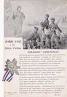 Jeanne D'Arc à Ses Frères D'armes - Courage ! Confiance ! - Patrióticos