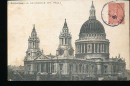 Londres -- La Cathedrale ( St - Paul ) - St. Paul's Cathedral