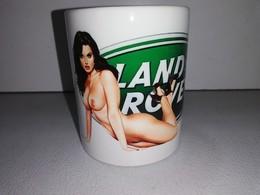 LAND ROVER RANGE 4X4 DISCOVERY DEFENDER 88 90 TASSE Ceramique MUG COFFEE PIN UP - Véhicules