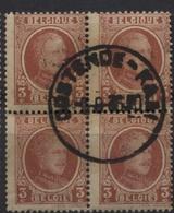 N°192 Bloc De 4 Obl. OOSTENDE-KAAI 1936 - 1922-1927 Houyoux