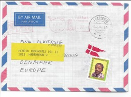 Panama - Cover Sent To Denmark.  H-654 - Panama