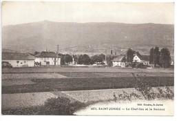 Cpa...Saint-Jorioz...le Chef-lieu Et Le Semnoz... - Frankreich