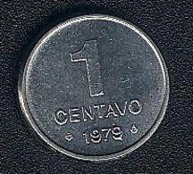 Brasilien, 1 Centavo 1979, UNC, Rar - Brazil