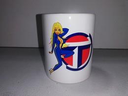 TALBOT PIN UP COMBINAISON 1100 SUNBEAM LOTUS TASSE Ceramique MUG COFFEE NOEL - Véhicules
