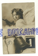 """Photographie Montage. Petit Ange, Sapin, Cloche """"1"""". 1911 - Anges"""