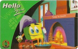 Syria - STE - Hello Syria - At Home, Prepaid 200S.P, Used - Siria