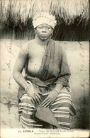 GUINÉE - Carte Postale - Kindia - Type De Femme Sara - Couli - L 30071 - Guinée Française