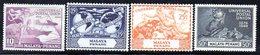 APR1219 - MALAYSIA 1949 , Serie  18/21 UPU  ***  MNH  PENANG - Penang