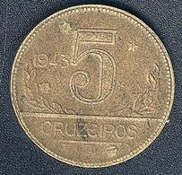 Brasilien, 5 Cruzeiros 1943 - Brazil