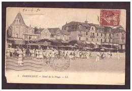 CPSM. France. Pornichet. Hôtel De La Plage. Carte Circulée. 1930. Timbre Et Cachet. Etat Moyen. Petite Déchirure. - Hotels & Restaurants