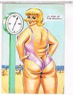 ILLUSTRATEUR  LOUIS CARRIERE Pin Up  LE POIDS  M 'EN  BALANCE    N°50408   CPM  TBE - Carrière, Louis