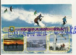 Esqui A Andorra. Carte Mosaïque. Pas De La Casa - Andorre