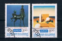 Bulgarien 1993 Europa/Cept Mi.Nr. 4047/48 Kpl. Satz Gest. - Gebruikt