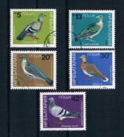 Bulgarien 1984 Vögel Mi.Nr. 3273/77 Kpl. Satz Gestempelt - Gebruikt