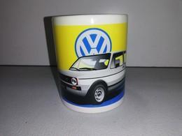 VOLKSWAGEN GOLF GTI VW RALLYE VHC COTE CIRCUIT TASSE Ceramique MUG COFFEE NOEL - Vehicles
