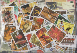Guyana Stamps-600 Different Stamps - Guyana (1966-...)