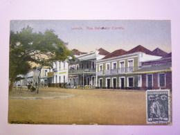 2019 - 1570  ANGOLA  -  LOANDA  :  Rua Slavador  CORRELA   1924I   XXX - Angola