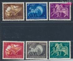 Luxemburg 525-530 (kompl.Ausg.) Postfrisch 1954 Brauchtum (8641377 - Ungebraucht