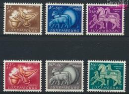 Luxemburg 525-530 (kompl.Ausg.) Postfrisch 1954 Brauchtum (9256349 - Luxemburg