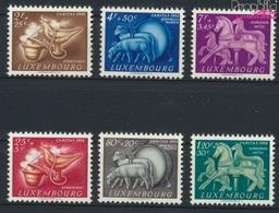 Luxemburg 525-530 (kompl.Ausg.) Postfrisch 1954 Brauchtum (9256351 - Ungebraucht